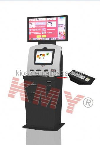 interactive information kiosk Lobby Finance Kiosk( KMY 8202) outdoor advertising kiosk