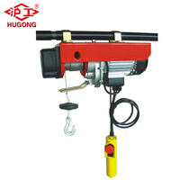 220v 200kg PA Type Car Used Engine Wire Rope Sling Mini Electric Chian Hoist