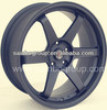 Durable Volk Rays TE37 Alloy Wheels With Matt Black Finish