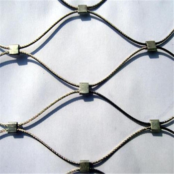 X Tend Flexible SS304 Stainless Steel Cable Mesh Netting