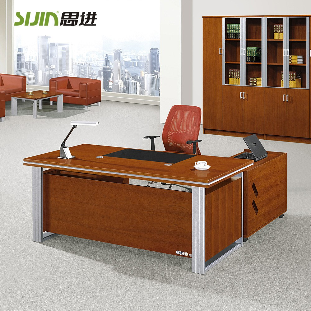 Sijin small office table design with office table 2 drawers buy small office table designoffice table 2 drawerswooden office table design product on