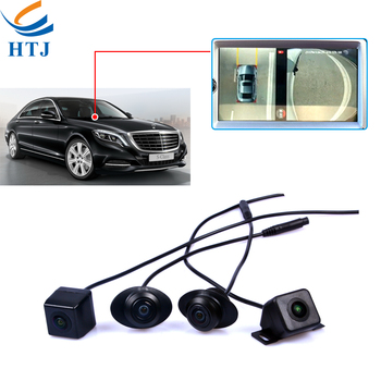 Factory Price Universal 360 View Car Camera System Bird View 2d 3d