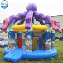 <span class=keywords><strong>Pulpo</strong></span> saltar gorila inflable, casa inflable
