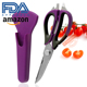 High Quality Multipurpose Kitchen Scissor with Magnetic Holder