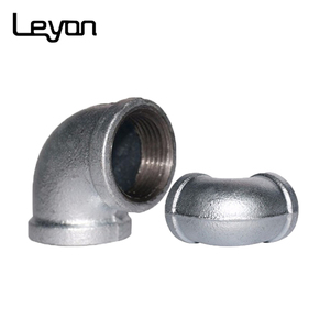 GI Elbow Soap Dispenser Malleable Iron Pipe Fittings