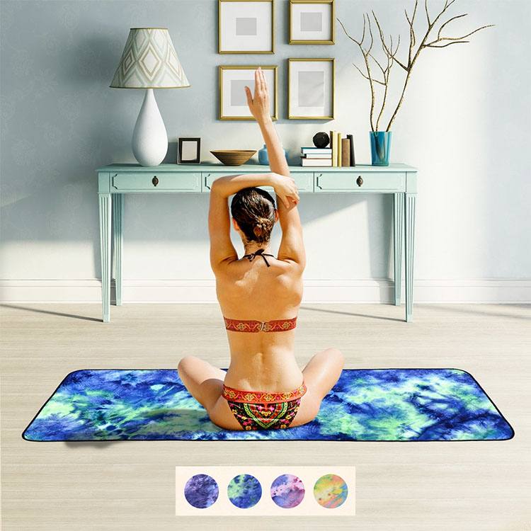 Eco friendly yoga hand towel microfiber
