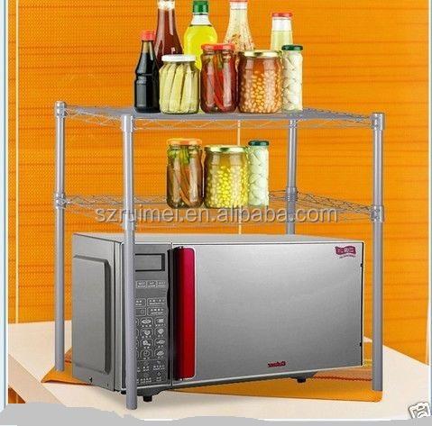 Magnetron Rack Vrijstaande Keuken Kast Met Lade Mand Buy Magnetron Rack Kastkeuken Afdruiprekmagnetron Weer Te Geven Product On Alibabacom