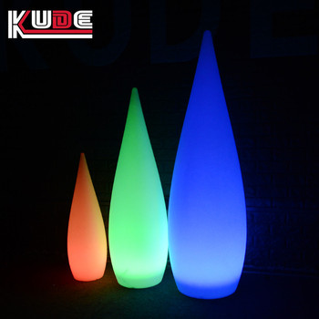 Diffe Size Water Drop Light Decorative Led Floor Lamp With Rechargeable Battery Operated