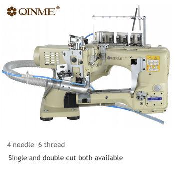 Industrial Sewing Machine 40 Needle 40 Thread Elastic Material Buy Enchanting 4 Needle Elastic Sewing Machine