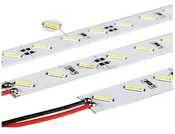 Hard rigid bar light dc12v 100cm 72 led smd 7020 aluminum alloy hard rigid bar light dc12v 100cm 72 led smd 7020 aluminum alloy rigid led strip light aloadofball Choice Image