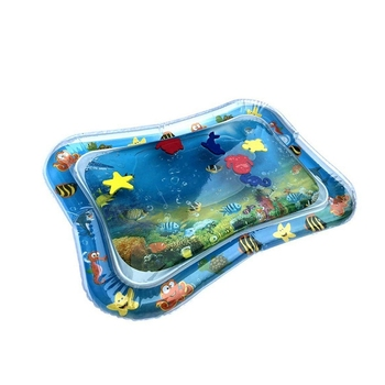 Tummy Time Outdoor Inflatable Baby Water Play Mat For Kids