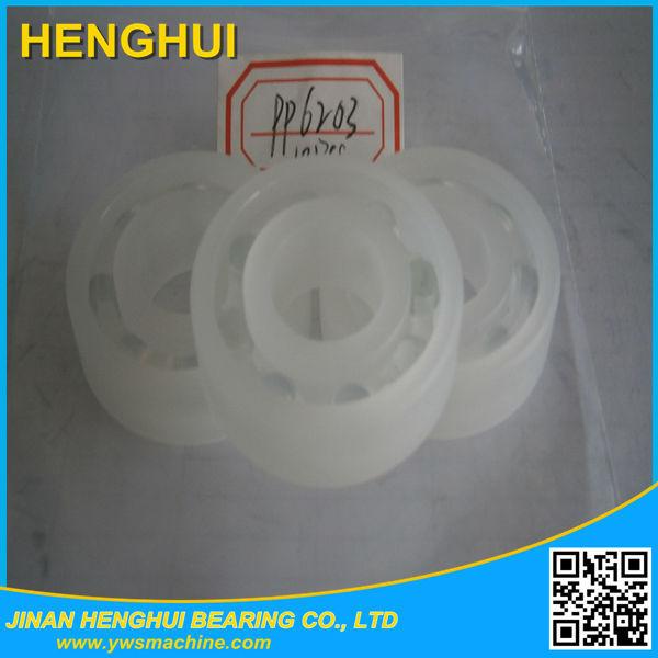 Peek/pom/pp Material Plastic Bearing Nylon Cage Bearing