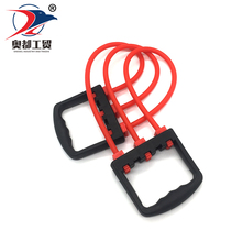 High quality gym fitness equipment for yoga pilates latex custom fitness resistance band