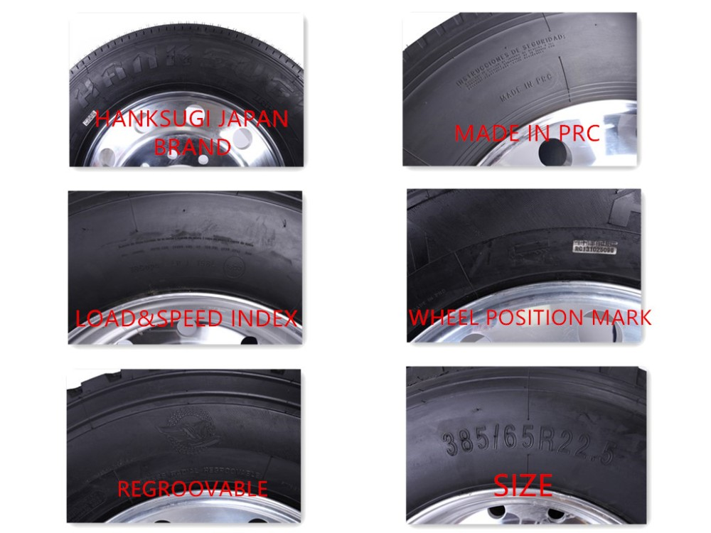 Hanksugi Tbr Tyre 385/65r22.5