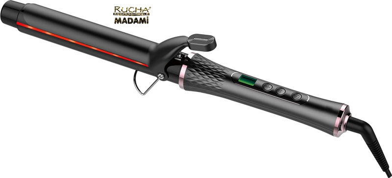 LCD Ceramic Infrared Magic Curling Iron