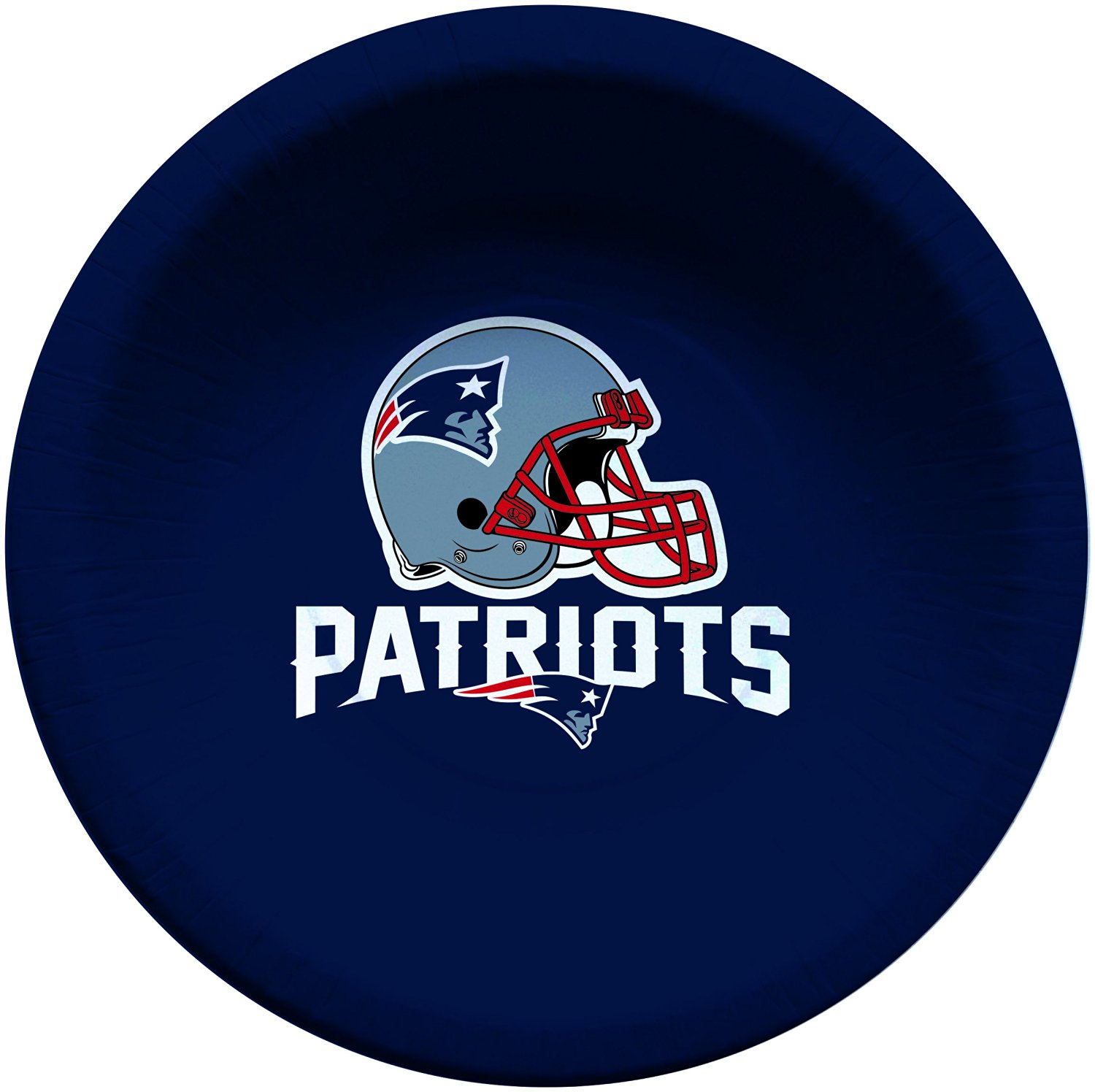 Creative Converting 8 Count New England Patriots Paper Bowls, 20-Ounce