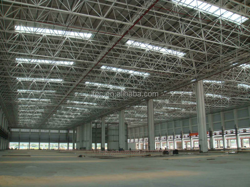 China LeadFrame Construction Design Steel Structure Warehouse