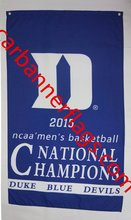 NCAA Duke Blue Devils flag 2015 NCAA Men's National Champions Duke Blue Devils banners 100% polyester 3x5Ft