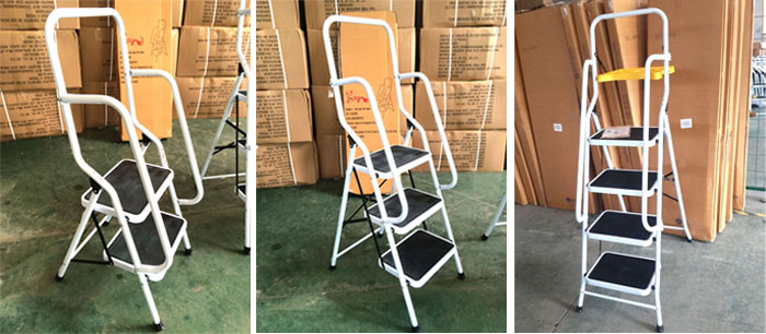 Chuangquanxing En131 New 2 3 4 Steps Safety Ladder With