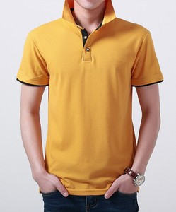 Men's professional new design plus size cotton polo club t-shirts for teenager