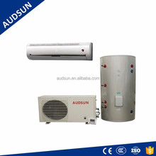 Split Type air source heat pump, air to water converter heat pump for house hot water heating