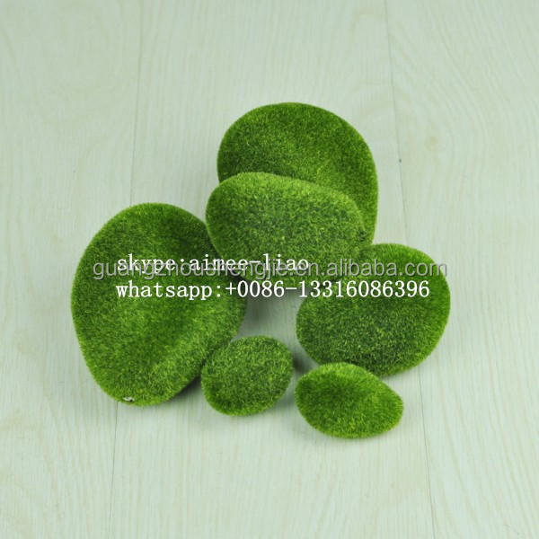 Q011905 foam stone wall decoration moss stone artificial stone
