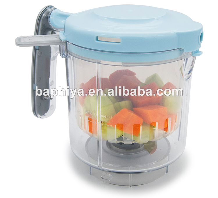 Kitchen appliance 5 in 1 digital display baby food processor/ baby food blender/baby food maker