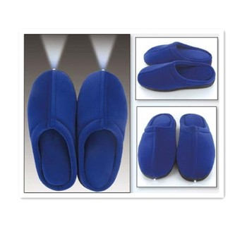 66fefa8ae1e Bright Feet Lighted Slippers Memory Foam Led Slippers - Buy Memory ...