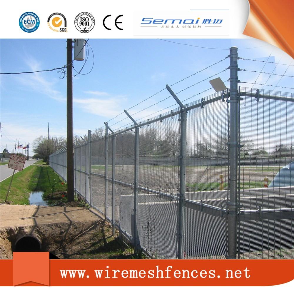 2017 Alibaba Trade Assurance Jail& Prison Hot Fence Design,Pvc 358 ...