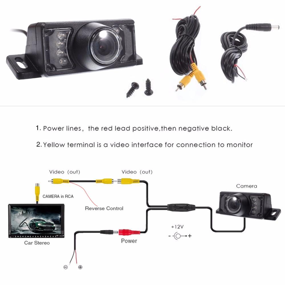 1 Din 7 Inch Motorized Screen Car Dvd Player Stereo Gps Navigation Radio Camera Wiring Diagram Backup