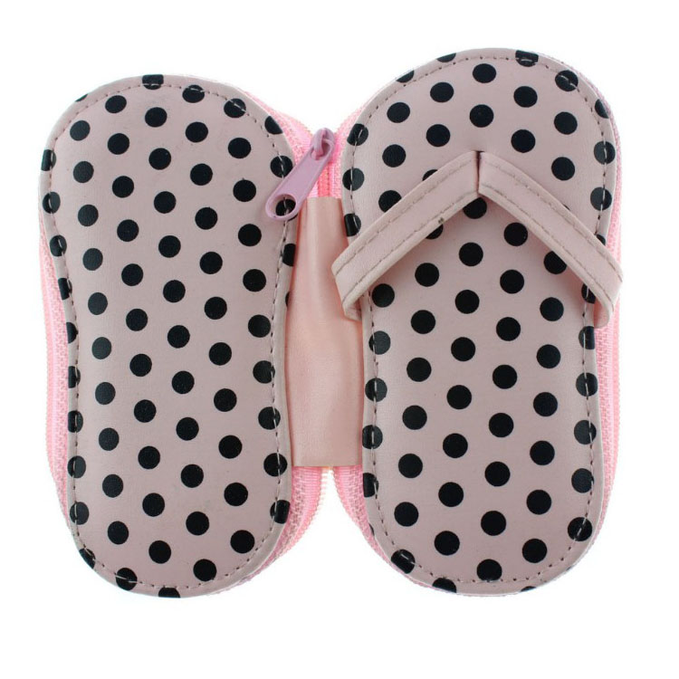 Oempromo Personalized PVC Flip Flop Girls Manicure Set