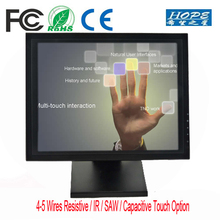 15 17 19 21.5 inch USB multi touch screen monitor