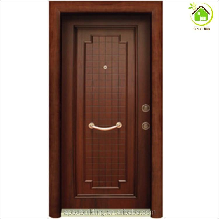 Steel wooden bullet proof security doors & Steel Wooden Bullet Proof Security Doors - Buy Bullet Proof Doors ...