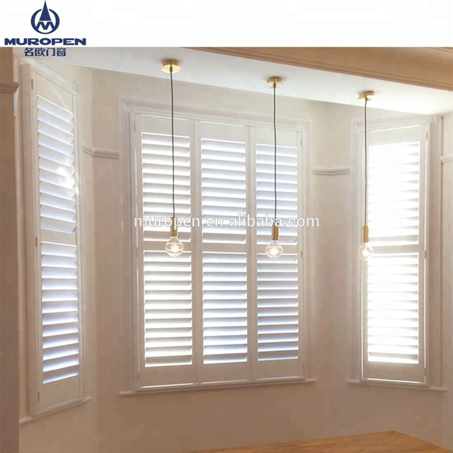 French Aluminum Windows Shutters Louver