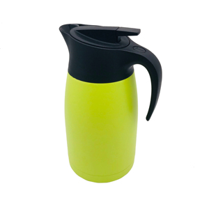 Colorful 201 stainless flask 1.5L Light Yellow Stainless Steel Thermo Flask for Tea and Coffee