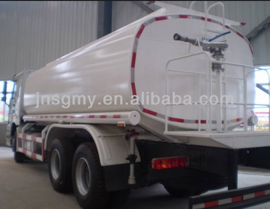 TRUCK MOUNTED WATER TANK