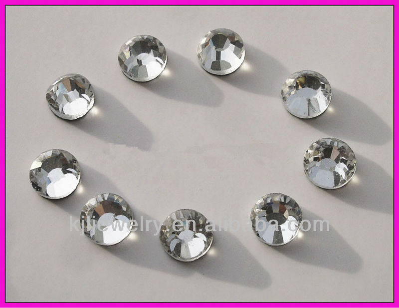 BR0858 DMC Iron On Hotfix Crystal Rhinestones Clear SS16, 3.8~4.0mm