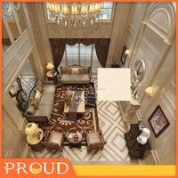 Foshan building materials beige porcelain marble tile
