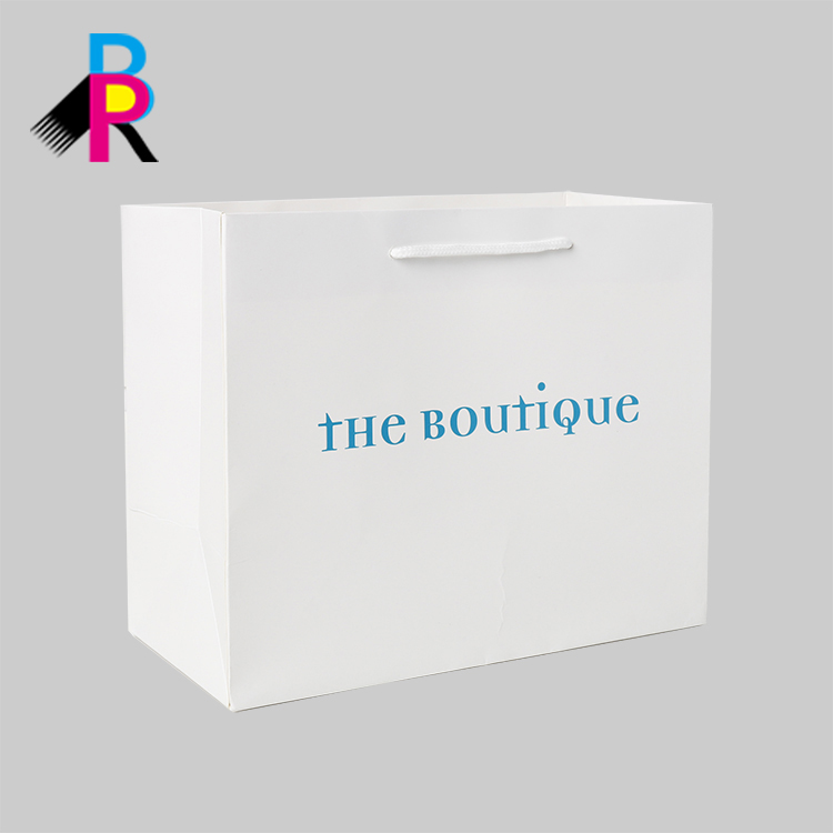 Biodegradable Waterproof Luxury Shopping Custom Gift Paper Bag