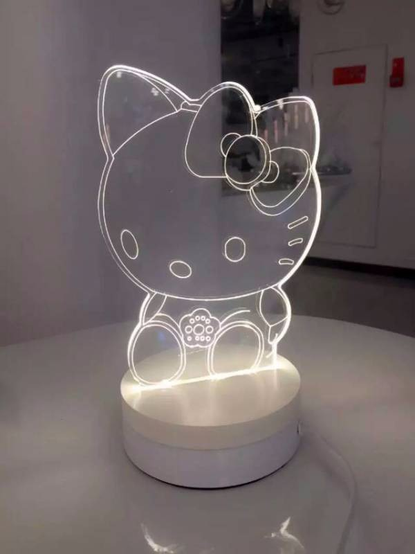 Best Gift Creative Table Bedside 3D Visual LED Night Light
