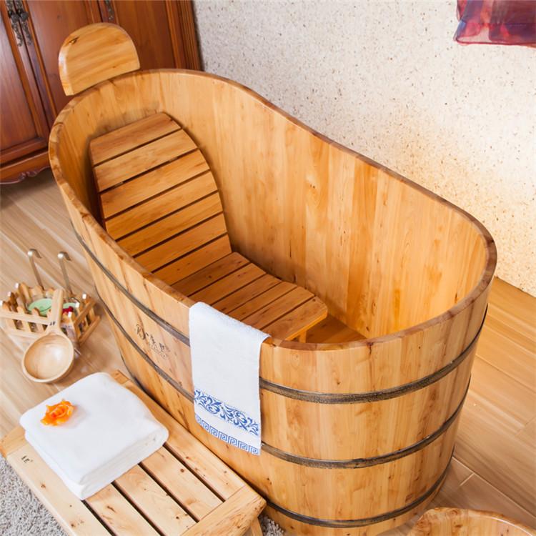 Vasca da bagno in legno, botti da bagno in legno, legno di cedro ...