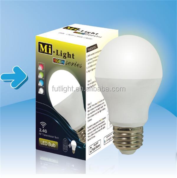 2.4g Color Changing Wifi Chandelier Bulbs,5w Rgb Led Bulb Gu10 ...