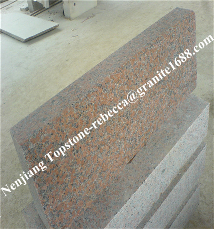 China Own Quarry Flamed Red Granite Tile Flooringfl On: China Cheap Red Granite Standard Kerbstone Sizes