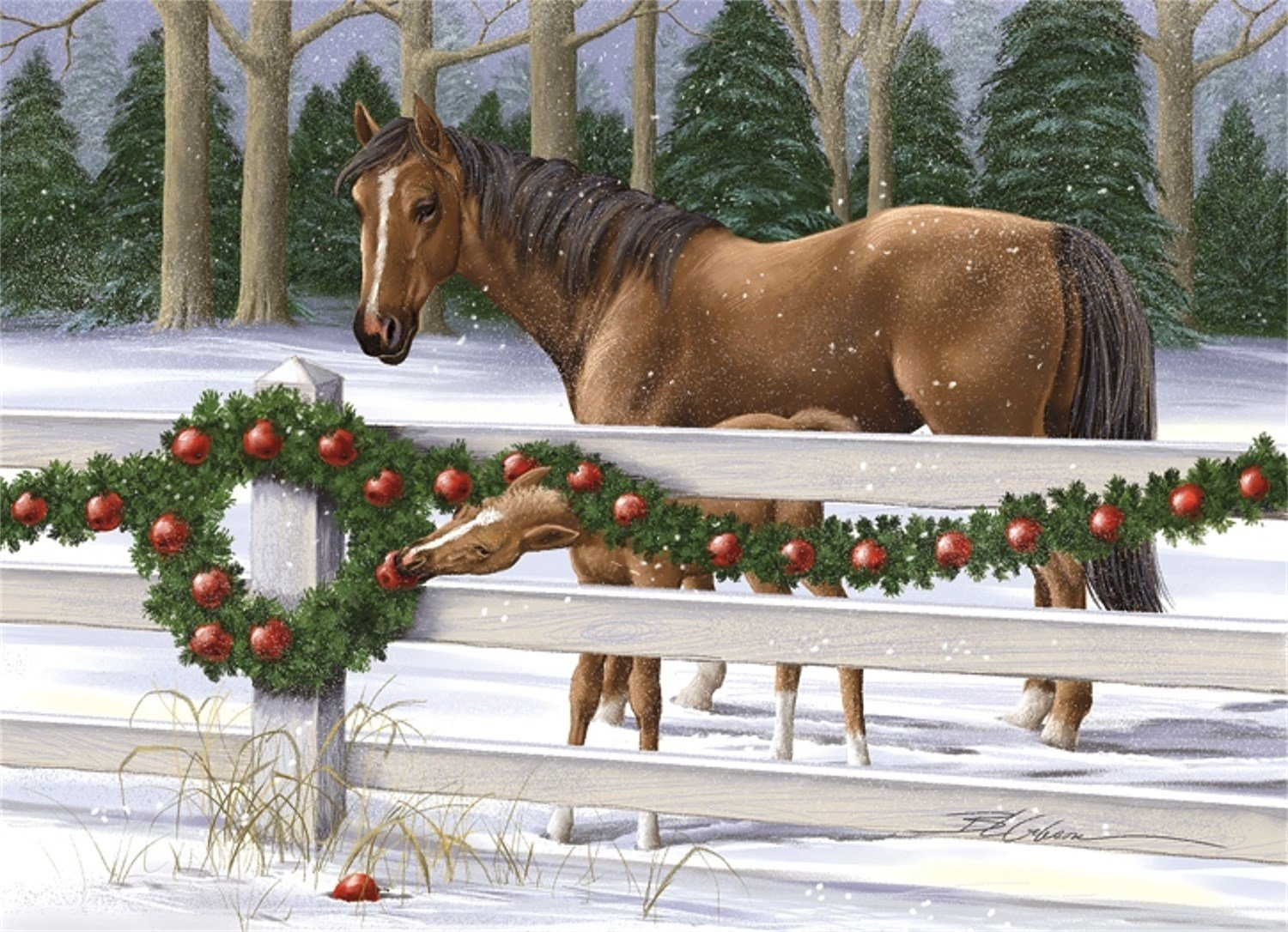 Cheap Christmas Cards Horses, find Christmas Cards Horses deals on ...