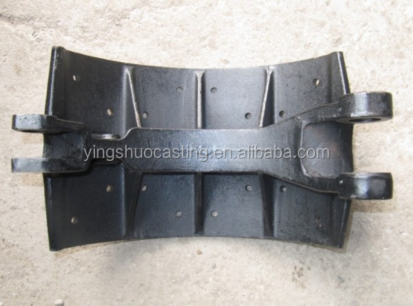 Cast&Forged customized cast iron cast steel metal truck body parts
