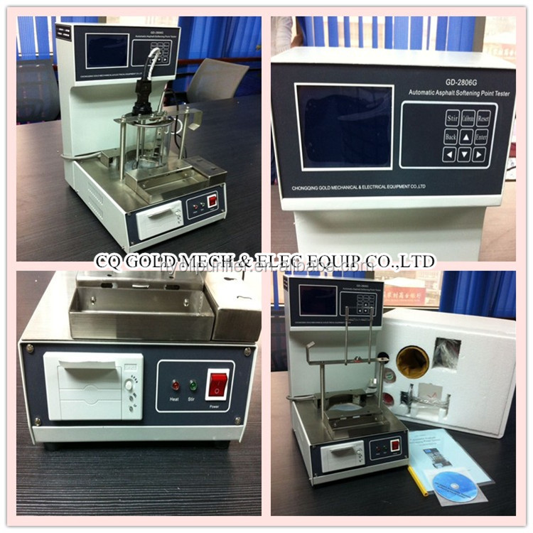 Ring and Ball Automatic Softening Point Tester for Bitumen