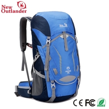 2017 hot sale nylon 50L blue best travel luggage bags