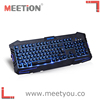The latest user friendly computer keyboard with material multimedia keyboard and gaming keyboard