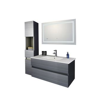 Simple Vanity Cabinet High Gloss Rv