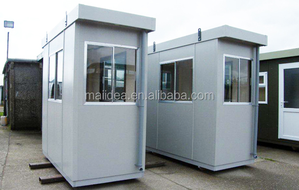 Security guard booth portable cabin port cabin buy security guard